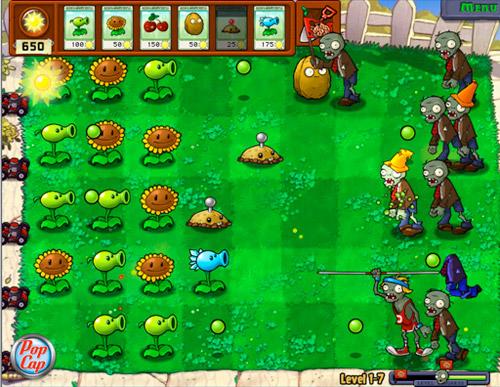 Plants Vs Zombies: Atual destruidor de famílias (Foto: Reprodução)