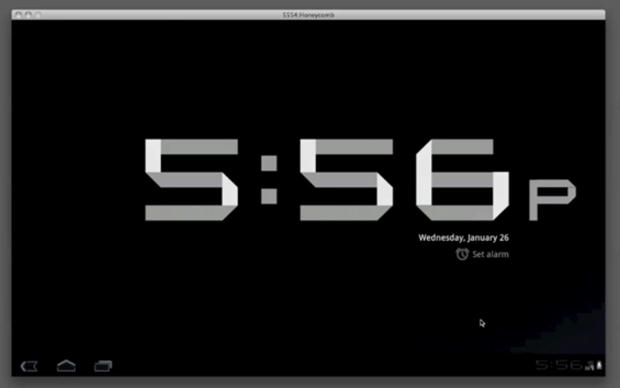 O novo relógio: Nem precisava ser tão grande (Foto: Reprodução)