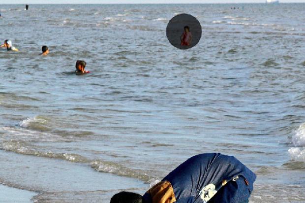 Apagando pessoas com o Photoshop Elements 9  (Foto: Reprodução/Andre Sugai)