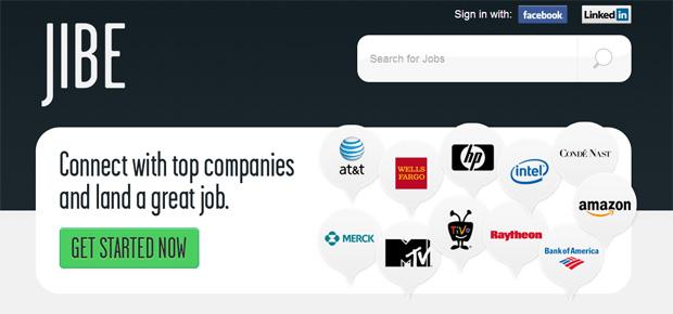 Jibe.com te ajuda a achar um emprego (Foto: Reprodução)