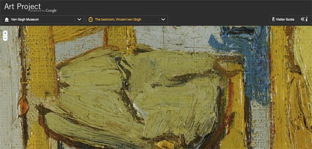 The Art Project - The Bedroom, Van Gogh  (Foto: Reprodução)