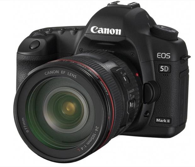 Canon EOS 5D (Foto: Divulgação)