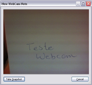 New Webcam Note (Foto: Reprodução)