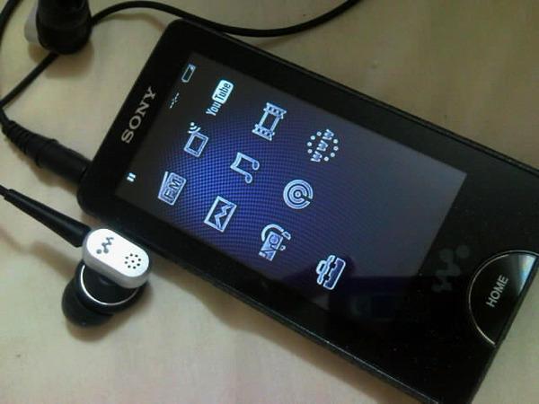 Sony X-Series Walkman (Foto: Divulgação)
