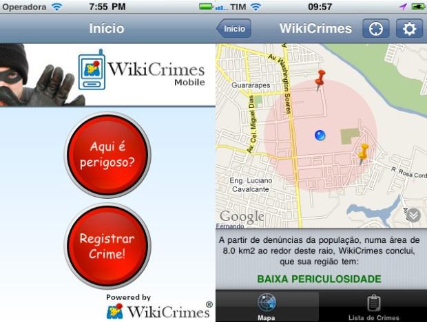 Wikicrimes (Foto: Reprodução)