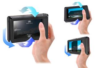 Acelerômetro do Samsung ST500 (Foto: Divulgação)