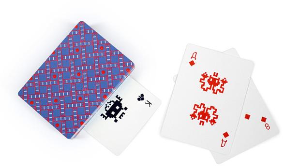 Cartas geek do Space Invaders (Foto: Divulgação)