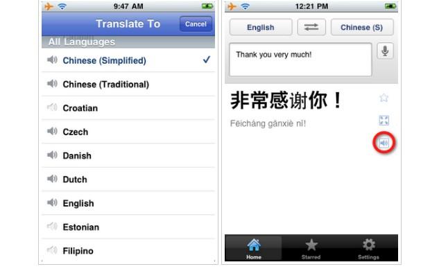 Google Translate para iOS (Foto: Reprodução)