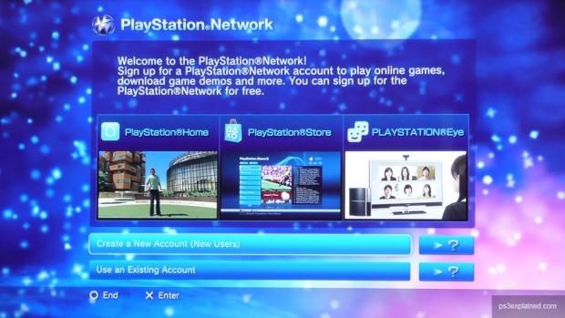 Criando uma nova conta no PS Network (Foto: Reprodução)
