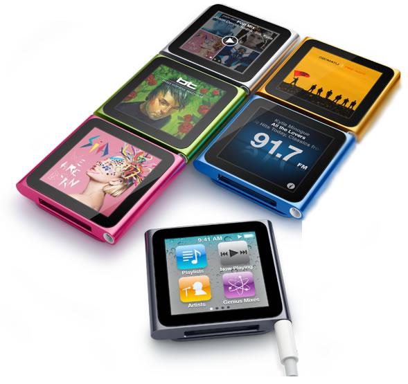 iPod Nano - 6ª geração (Foto: Divulgação)