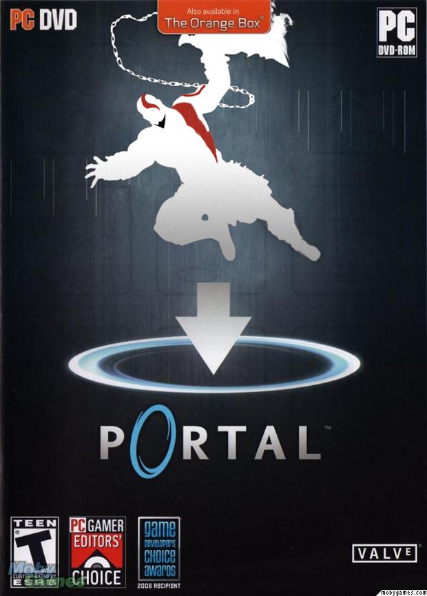 Quando Kratos zerou Portal, no final tinha bolo #kratosfacts (Foto: Divulgação)