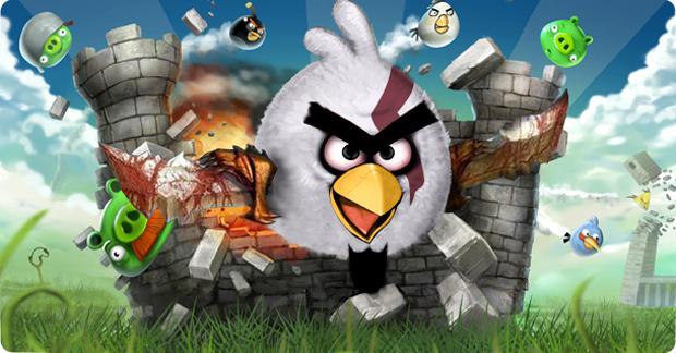 Kratos em Angry Birds Sparta, a verdadeira origem das rinhas de galo (Foto: Divulgação)
