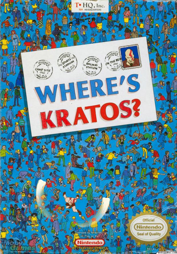 Onde está o Kratos? Siga a trilha de sangue (Foto: Divulgação)