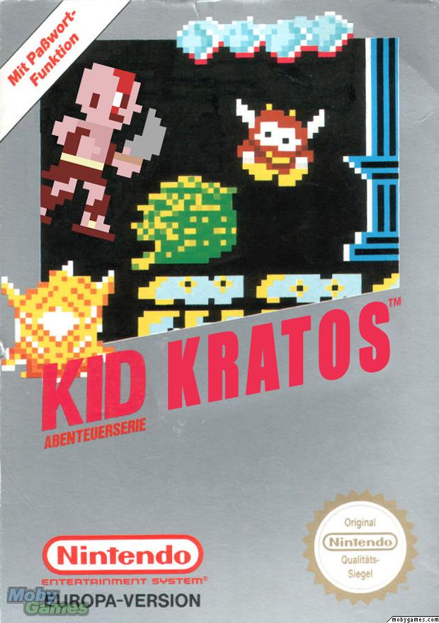Quando criança, Kratos matava menos. Aí percebeu que podia usar uma segunda espada  (Foto: Divulgação)
