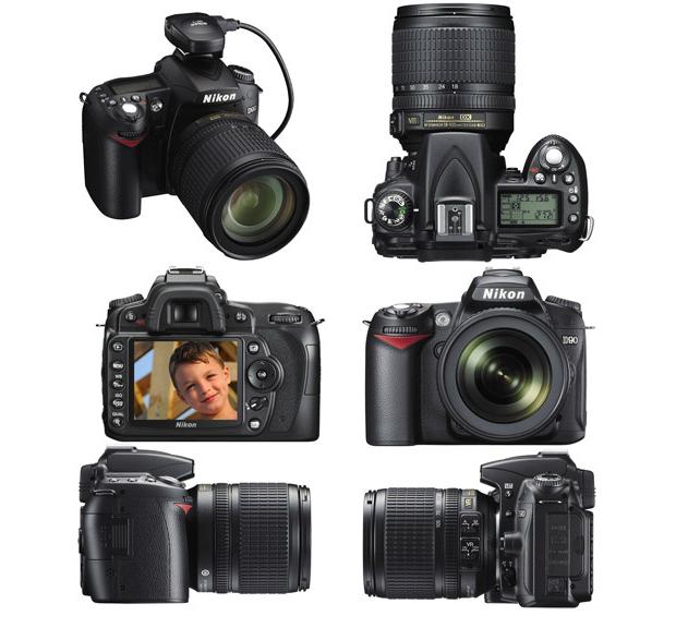 Nikon D-90 (Foto: Divulgação)