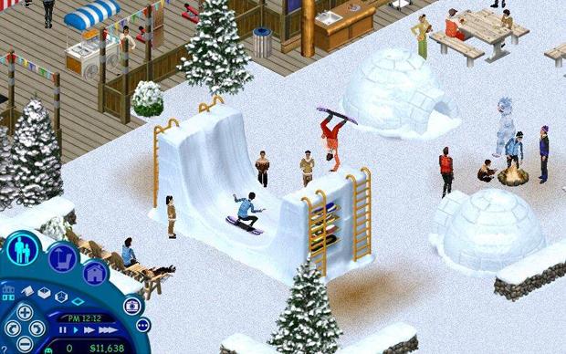 The Sims de férias (Foto: Divulgação)