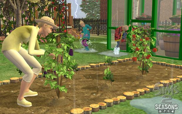 The Sims 2 - Quatro Estações (Foto: Divulgação)