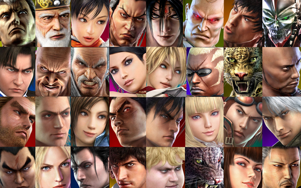 Personagens de Tekken (Foto: Divulgação)