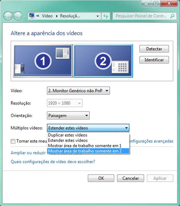 Ajuste de exibição dos vídeos no Windows 7 (Foto: Reprodução/TechTudo)