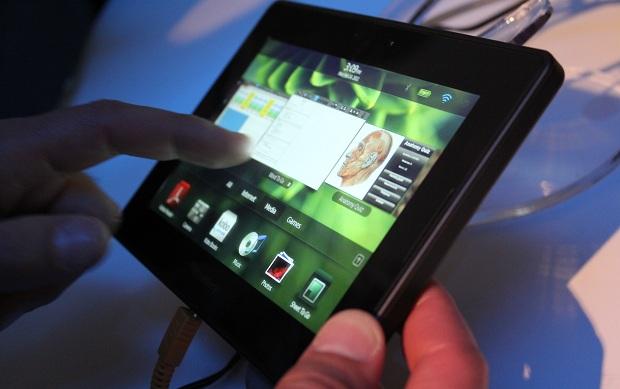 BlackBerry PlayBook (Foto: Gabriel Tonobohn/TechTudo)