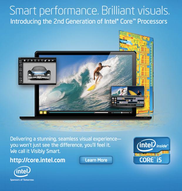 Propaganda da Intel  (Foto: Divulgação)