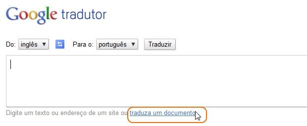 Abra a opção de upload (Foto: Reprodução/Camila Porto)
