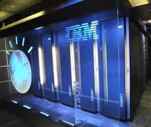 Watson da IBM (Foto: Reprodução: Physorg / AFP)