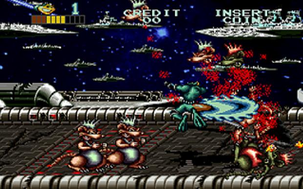 Battletoads no Arcade (Foto: Divulgação)
