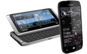 Nokia E7 e Windows Phone 7 (Foto: Reprodução)