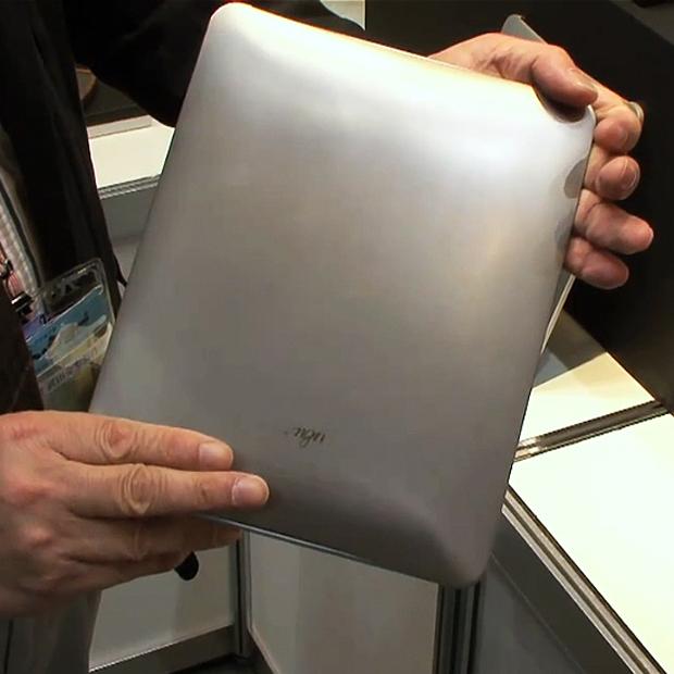Capa de titânio para o iPad. Mais proteção, impossível! (Foto: DigInfo TV)