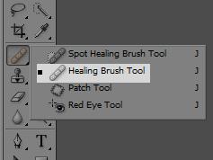 Healing Brush Tool (Foto: Reprodução/TechTudo)