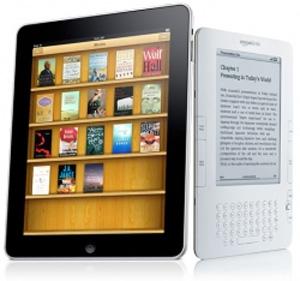 iPad versus Kindle (Foto: Divulgação)