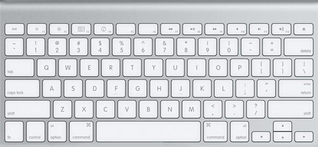 Teclado de Mac (Foto: Reprodução)