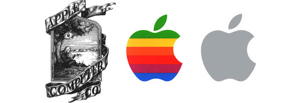 Evolução da marca da Apple (Foto: Reprodução)