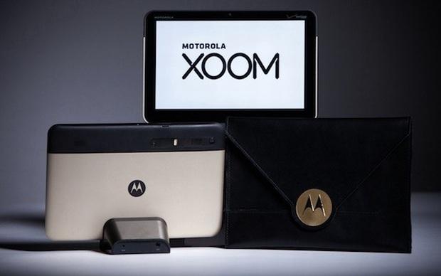 Motorola Xoom dourado exclusivo para o Oscar (Foto: Reprodução)
