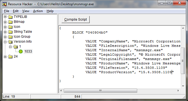 Substituindo os valores do programa (Foto: Reprodução/Helito Bijora)