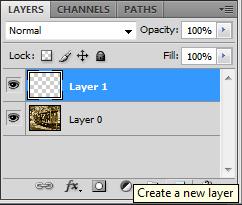 Criando um novo layer (Foto: Reprodução/TechTudo)