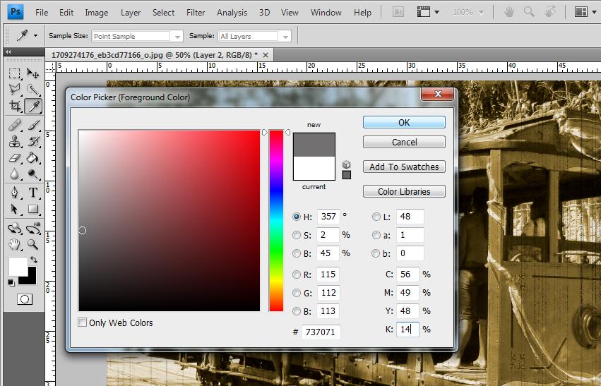 Escolha da cor (Foto: Reprodução/TechTudo)