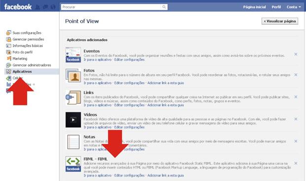 Editor de Aplicativo do Facebook (Foto: Reprodução/Teresa Furtado)