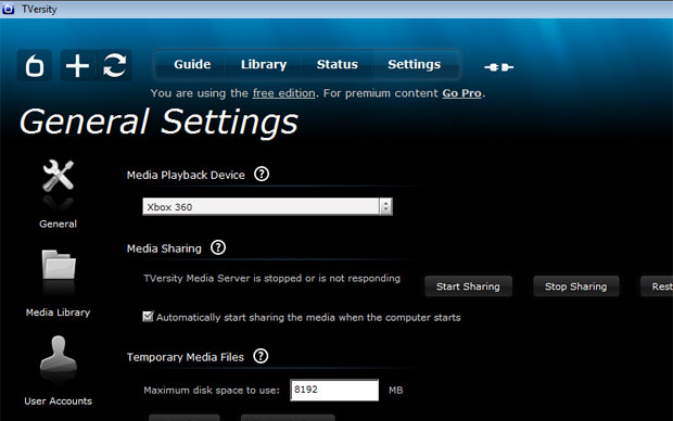 Tversity permite que Xbox rode vídeos em formatos Dvix (Foto: Reprodução)