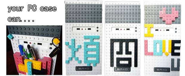 Gabinete de Lego (Foto: Reprodução)