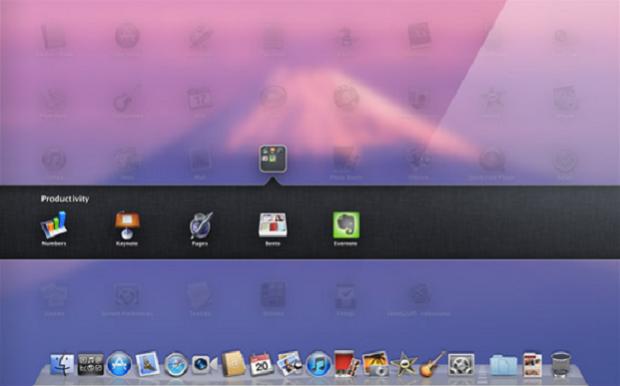 Launchpad no Lion (Foto: Reprodução)