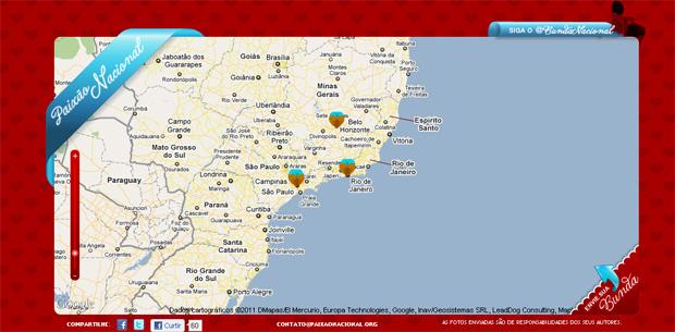 Paixão Nacional, site para avaliar os bumbuns do mundo (Foto: Reprodução/Luiza Baptista)