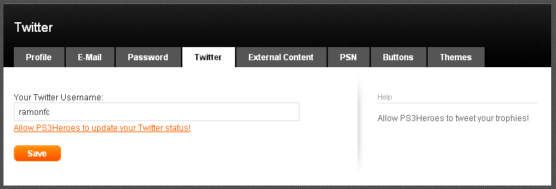 Integrando a PSN ao Twitter (Foto: Reprodução/TechTudo)