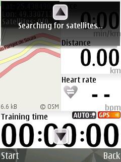 Buscando satélites (Foto: Reprodução/Gustavo Ribeiro)