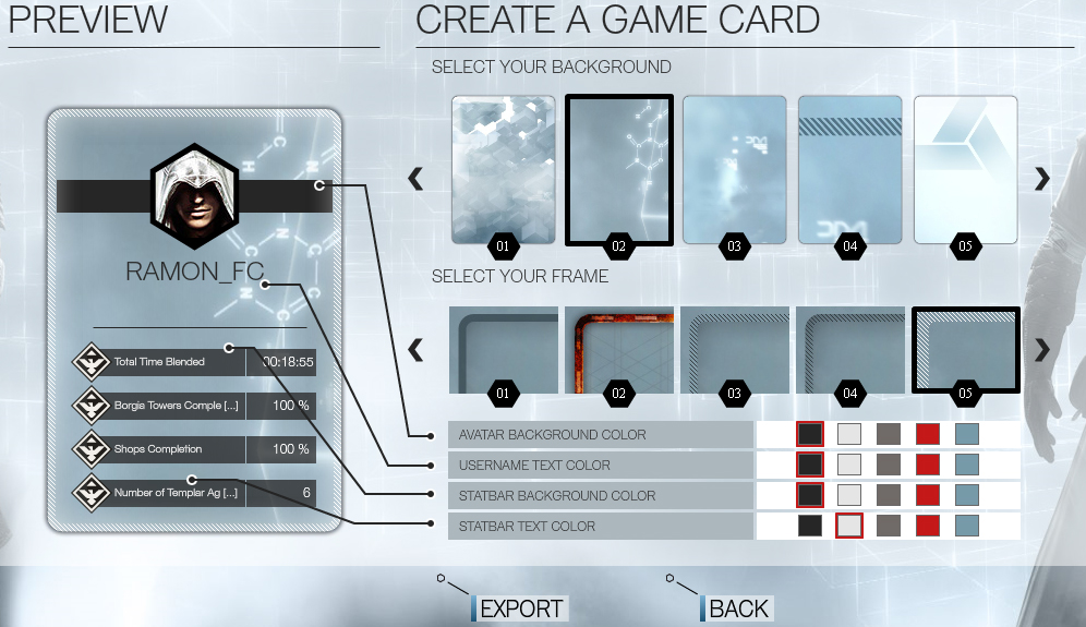 Criaçao do Game Card (Foto: Reprodução/TechTudo)
