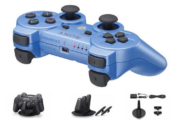 Novo Dual Shock 3 Azul (Foto: Divulgação)