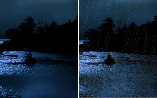 Compare o resultado final, com a imagem original à esquerda (Foto: Reprodução)