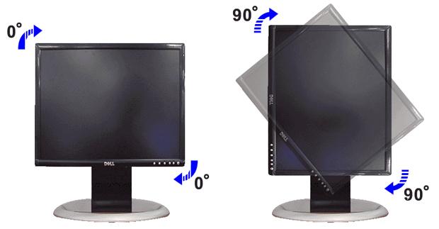 Monitor na vertical (Foto: Divulgação)
