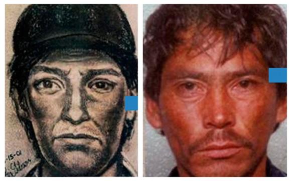 Software compara desenho com milhares de fotografias e encontra a do criminoso. (Foto: Divulgação)
